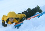 Seth sledding