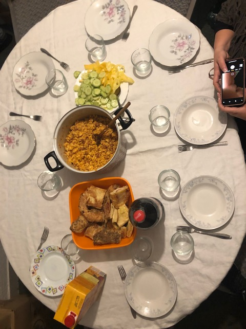 HOP House dinner